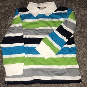 New with tags long sleeve boy collar shirt.